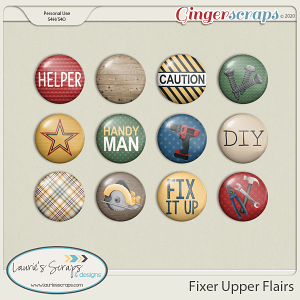 Fixer Upper Flairs