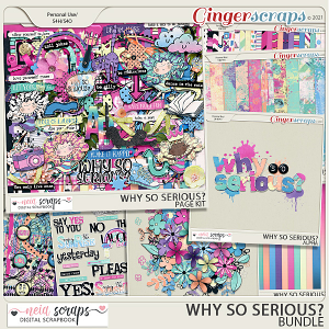 Why so Serious? - Bundle - by Neia Scraps