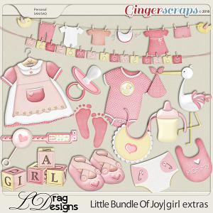 Little Bundle Of Joy: Girl Extras by LDragDesigns