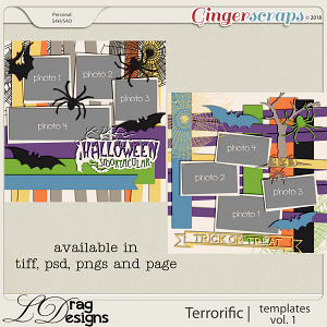 Terror-ific: Templates Vol.1 by LDragDesigns