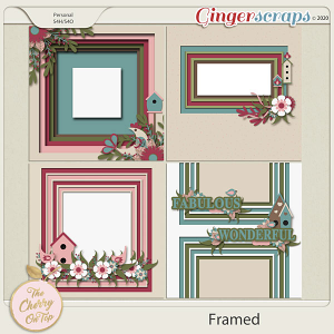 The Cherry On Top Framed Templates