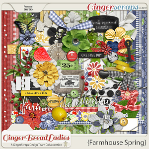 GingerBread Ladies Collab: Farmhouse Spring