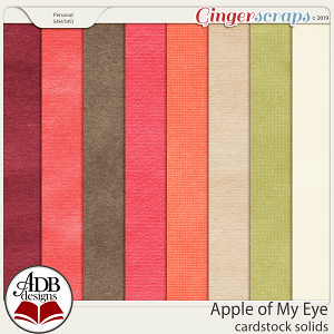 Apple of My Eye Cardstock by ADB Designs