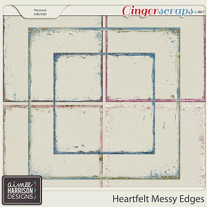 Heartfelt Messy Edges