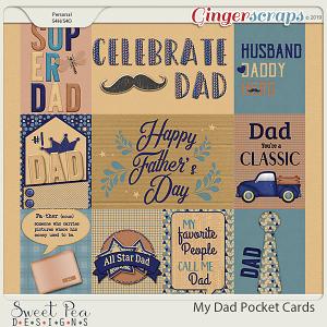 My Dad Pocket Cards