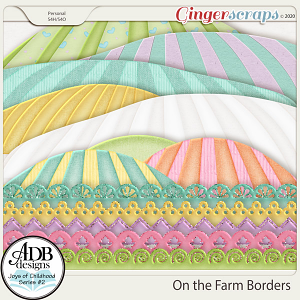 On the Farm Borders by ADB Designs