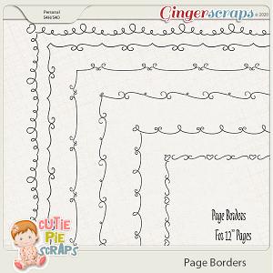Page Borders 14 By Cutie Pie Scraps