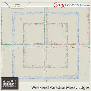 Weekend Paradise Messy Edges by Aimee Harrison