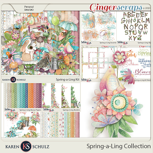 Spring-a-Ling Collection by Karen Schulz