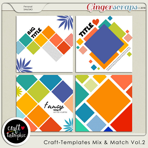 Craft-Templates Mix and Match Vol 2