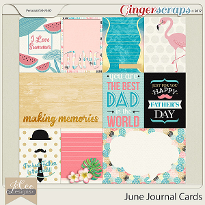 June Journal Cards