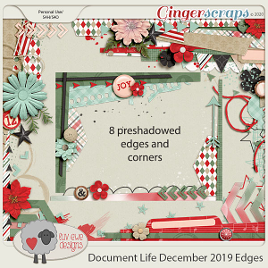 Document Life December 2019 Edges and Corners by Luv Ewe Designs