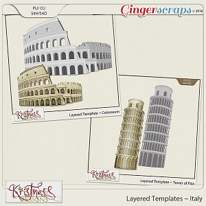 CU Italy Layered Templates