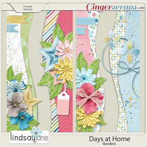 Days at Home Borders by Lindsay Jane