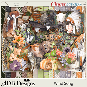 Wind Song Page Kit by ADB Designs