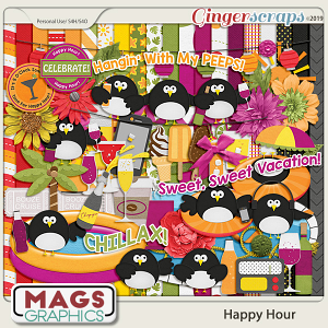 Happy Hour KIT by MagsGraphics