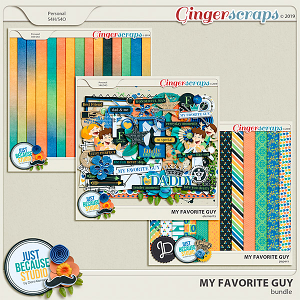 My Favorite Guy Bundle by JB Studio