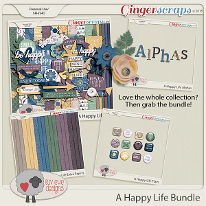 A Happy Life Bundle by Luv Ewe Designs