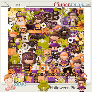 Halloween Pie-Page Kit