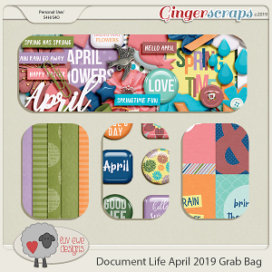 Document Life April 2019 Grab Bag by Luv Ewe Designs