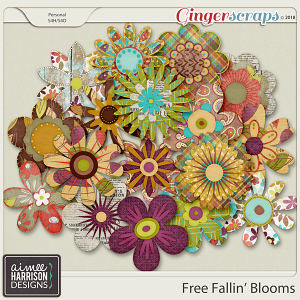 Free Fallin' Blooms by Aimee Harrison