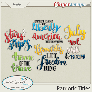 Patriotic Titles