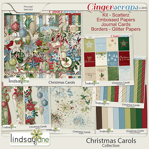 Christmas Carols Collection by Lindsay Jane