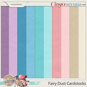 Fairy Dust Cardstocks by JoCee Designs