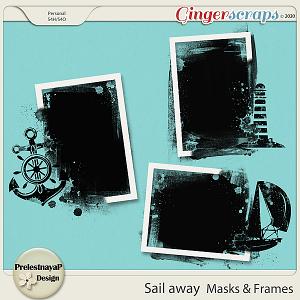 Sail away Masks & Frames