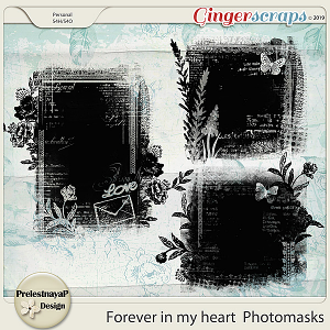 Forever in my heart Photomasks