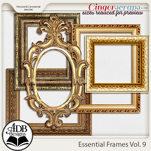 Essential Frames Vol 09 by ADB Designs