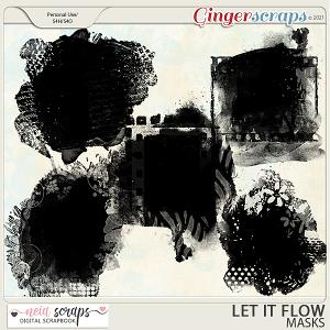 Let it Flow - Masks - by Neia Scraps