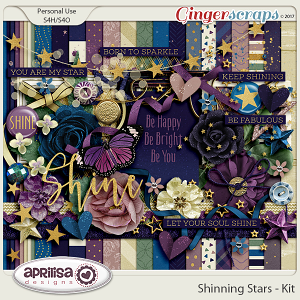 Shining Stars - Kit by Aprilisa Designs