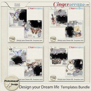 Design your Dream life Templates Bundle