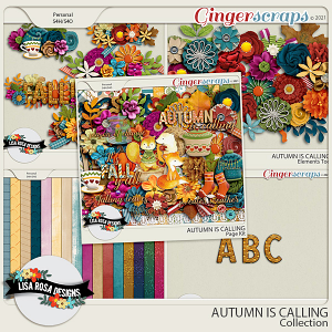 Autumn is Calling - Collection by Lisa Rosa Designs