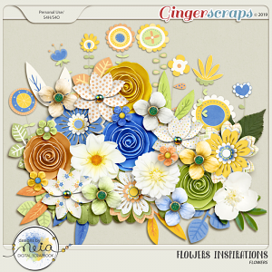 Flowers Inspirations - Flowers - by Neia Scraps