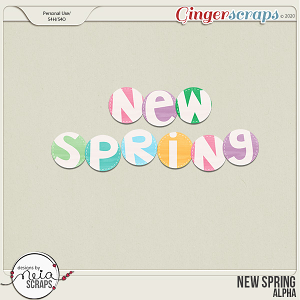 New Spring - Alpha - by Neia Scraps