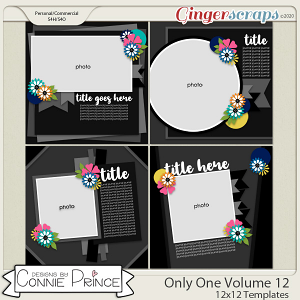 Only One Volume 12 - 12x12 Temps (CU Ok) by Connie Prince