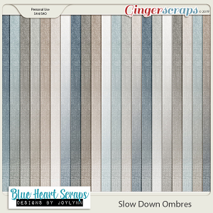 Slow Down Ombre Paper Pack
