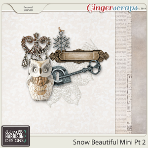 Snow Beautiful Mini Kit #2 by Aimee Harrison