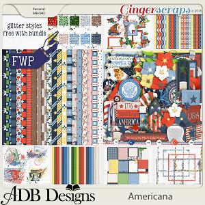 Americana Bundle by ADB Designs