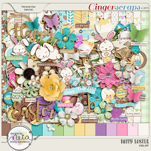Happy Easter - Full Kit - By Neia Scraps
