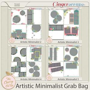 Artistic Minimalist Templates Grab Bag