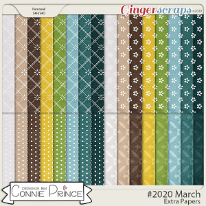 #2020 March - Extra Papers by Connie Prince