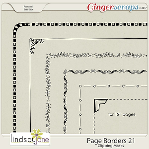 Page Borders 21 by Lindsay Jane