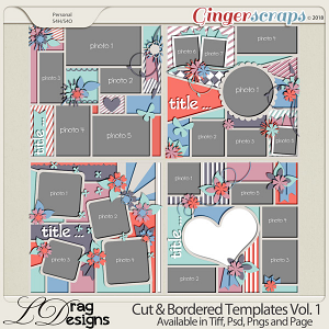 Cut & Bordered Vol.1 by LDrag Designs
