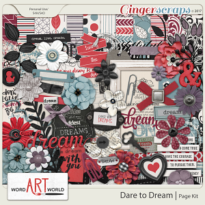 Dare to Dream Page Kit