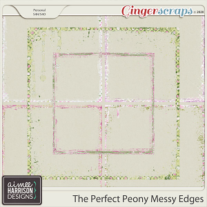 The Perfect Peony Messy Edges by Aimee Harrison