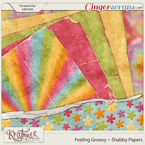 Feeling Groovy Shabby Papers