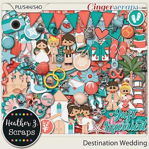 Destination Wedding KIT by Heather Z Scraps